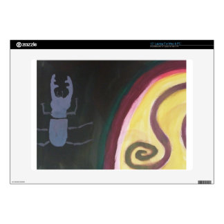 """Abstract painting by s b Eazle 15"""" Laptop Skins"""