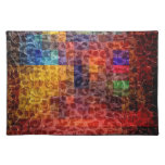 Abstract painting City Lights Placemat