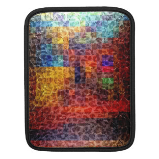 Abstract painting City Lights Sleeve For iPads
