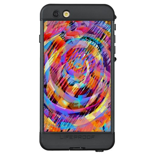 Abstract Painting Color Burst LifeProof Case