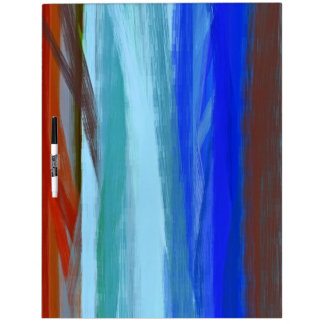 Abstract Painting | Colorful Abstract Art 2 Dry-Erase Board