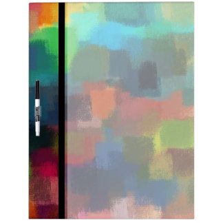 Abstract Painting | Colorful Abstract Art 7 Dry-Erase Board