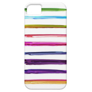 Abstract Painting | Colorful Paint Brush Strokes iPhone 5 Cases