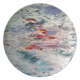 Abstract Painting Dinner Plate