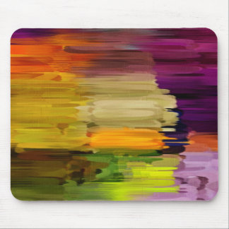 Abstract Painting   Dynamic Colors 20 Mouse Pad