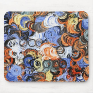 Abstract Painting   Dynamic Colors 8 Mouse Pad