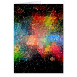 Abstract Painting | Dynamic Colors Cards