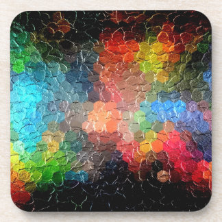 Abstract Painting | Dynamic Colors Coaster
