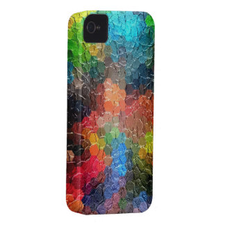 Abstract Painting | Dynamic Colors iPhone 4 Case-Mate Case