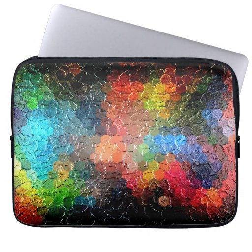 Abstract Painting | Dynamic Colors Computer Sleeve