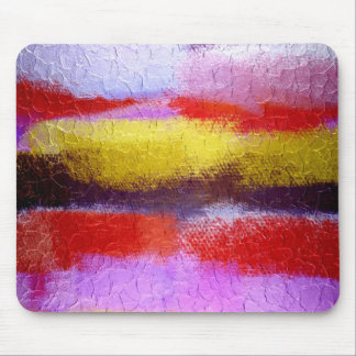 Abstract Painting   Dynamic Colors Mouse Pad