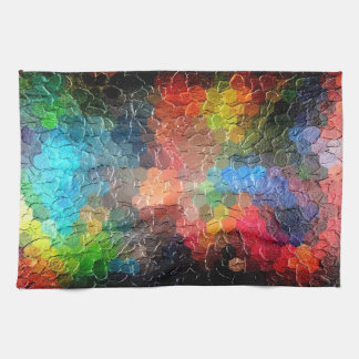 Abstract Painting | Dynamic Colors Towel