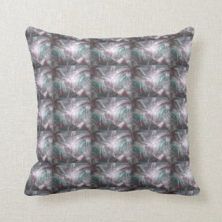 Abstract Painting Flare Throw Pillow
