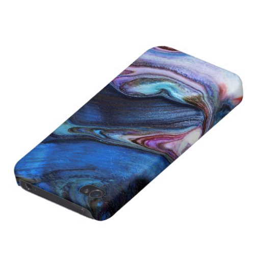 Abstract Painting Case For iPhone 4