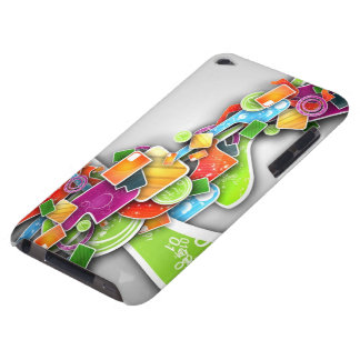 abstract painting iPod touch Case-Mate case