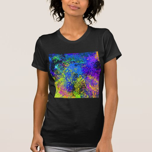 Abstract Painting on Canvas T-shirts