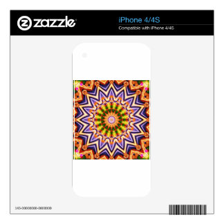 abstract painting on multiple objects iPhone 4S decal