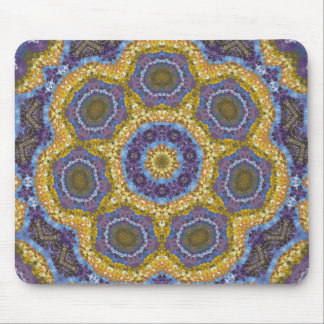 Abstract Painting Pattern 03 - Add your own text Mouse Pad