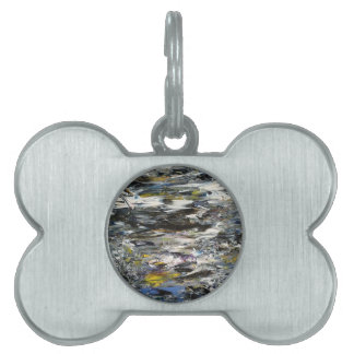 Abstract Painting Pet Tag