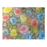 Abstract Painting Post Card