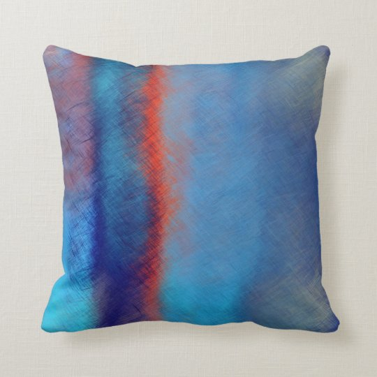 Abstract Painting | Retro Abstract Art 26 Throw Pillow