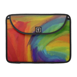 Abstract Painting | Retro Colorful 10 Sleeve For MacBooks
