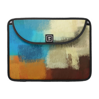 Abstract Painting | Retro Colorful 13 MacBook Pro Sleeve
