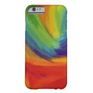 Abstract Painting | Retro Colorful 42 Barely There iPhone 6 Case