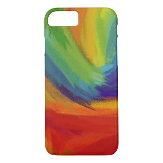 Abstract Painting | Retro Colorful 42 iPhone 8/7 Case
