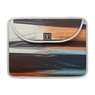 Abstract Painting | Retro Colorful 6 MacBook Pro Sleeve