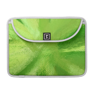 Abstract Painting | Retro Green 7 Sleeve For MacBook Pro