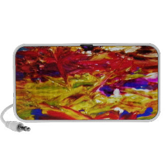 Abstract Painting Travelling Speaker