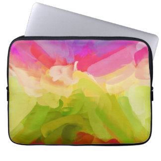 Abstract Painting | Spring Colors Computer Sleeves