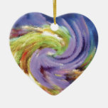Abstract Painting Swirl Enfeite De Natal