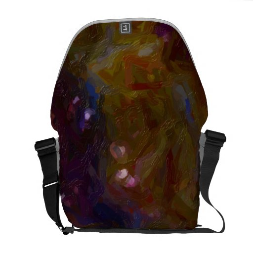 Abstract Painting Texture TPD Messenger Bag