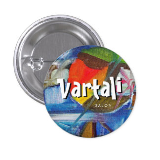 Abstract Painting Vartali Round Button