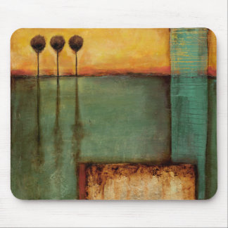 Abstract Painting with Piano Keys Mouse Pad