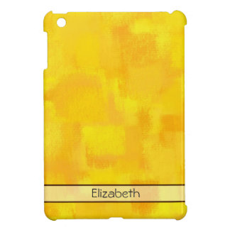 Abstract Painting   Yellow Abstract Art 60 iPad Mini Cover