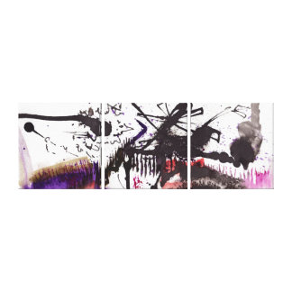 Abstract Paintings Panels Landscape Calligraphy Canvas Print