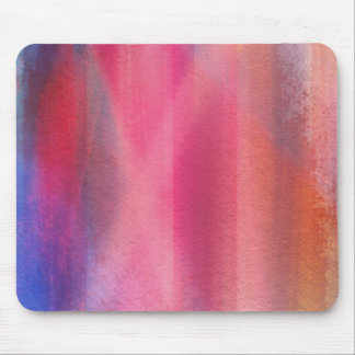 Abstract paints mouse pad