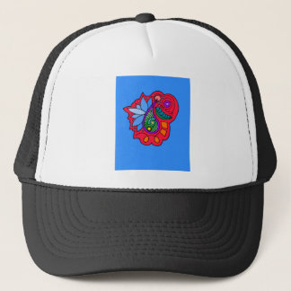 Abstract Paisley Design Trucker Hat