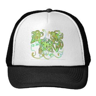 abstract paisley hats
