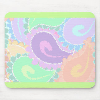 Abstract Paisley Mouse Pad