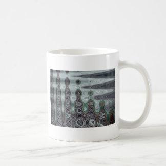 ABSTRACT PALM LEAF 3 COFFEE MUG
