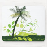 Abstract Palm Tree Mouse Pad