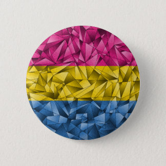Abstract Pansexual Flag Pinback Button