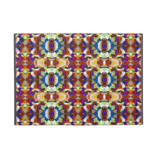 Abstract Pansy Flower Fractal Covers For iPad Mini