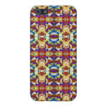 Abstract Pansy Flower Fractal iPhone 5 Covers