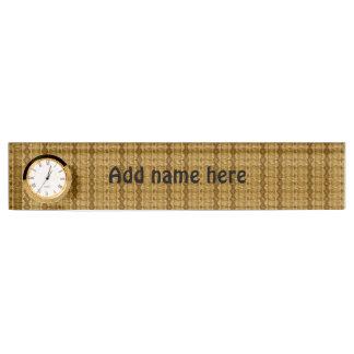 Paper Desk Name Plates Zazzle