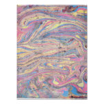 Abstract PAPER Marbling Posters